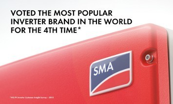 SMA voted the most popular inverter brand in the world
