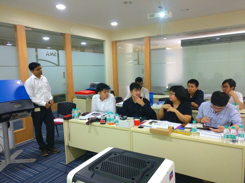 SMA Thailand - Business Partners Training